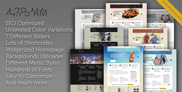 4 Preview Wordpress Theme - Rating, Reviews, Preview, Demo & Download