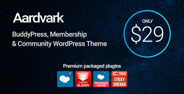Aardvark Preview Wordpress Theme - Rating, Reviews, Preview, Demo & Download
