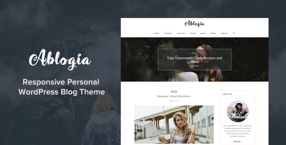 Ablogia Preview Wordpress Theme - Rating, Reviews, Preview, Demo & Download