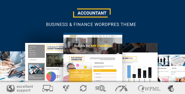 Accountant WP Preview Wordpress Theme - Rating, Reviews, Preview, Demo & Download