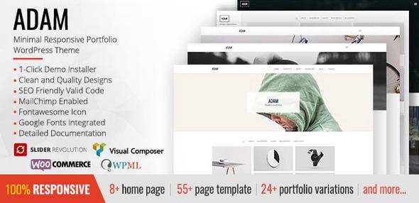 ADAM Preview Wordpress Theme - Rating, Reviews, Preview, Demo & Download
