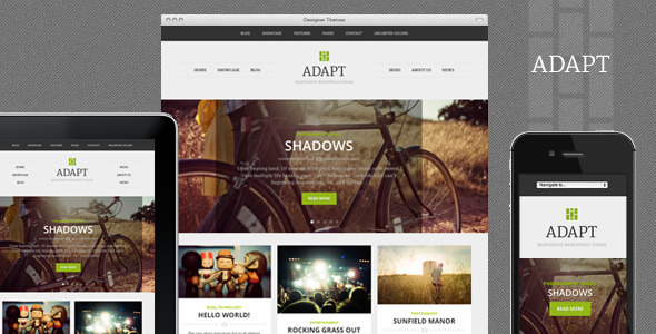 Adapt Preview Wordpress Theme - Rating, Reviews, Preview, Demo & Download
