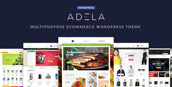 Adela Multipurpose Preview Wordpress Theme - Rating, Reviews, Preview, Demo & Download