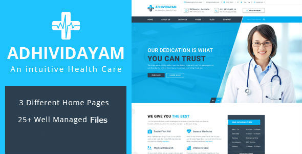 Adhividayam Preview Wordpress Theme - Rating, Reviews, Preview, Demo & Download