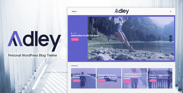Adley Preview Wordpress Theme - Rating, Reviews, Preview, Demo & Download
