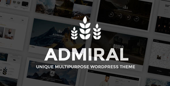 Admiral Preview Wordpress Theme - Rating, Reviews, Preview, Demo & Download