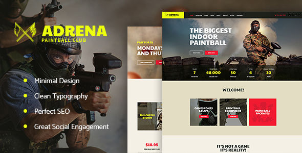 Adrena Preview Wordpress Theme - Rating, Reviews, Preview, Demo & Download