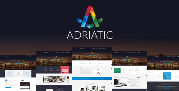 Adriatic Preview Wordpress Theme - Rating, Reviews, Preview, Demo & Download