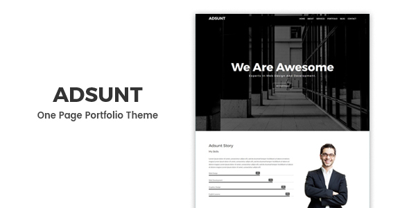 Adsunt Preview Wordpress Theme - Rating, Reviews, Preview, Demo & Download