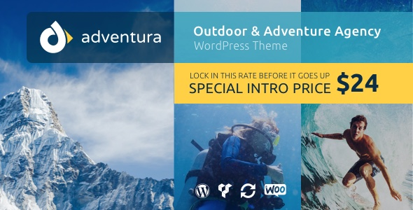 Adventura Preview Wordpress Theme - Rating, Reviews, Preview, Demo & Download