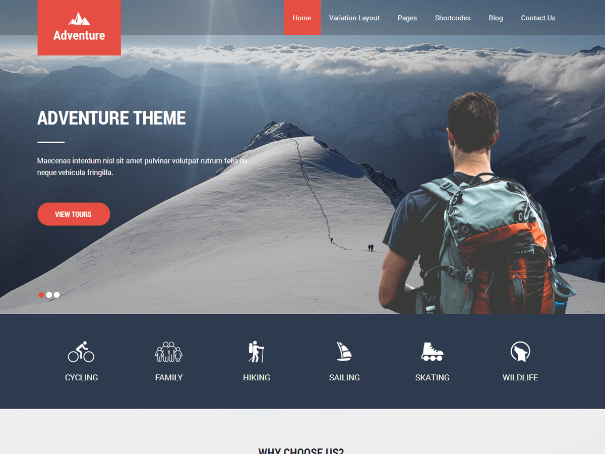 Adventure Lite Preview Wordpress Theme - Rating, Reviews, Preview, Demo & Download