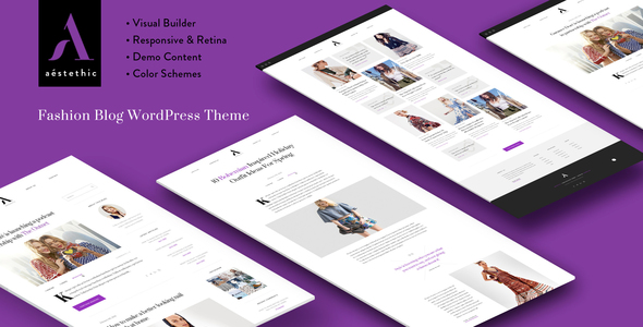 Aesthetic Preview Wordpress Theme - Rating, Reviews, Preview, Demo & Download
