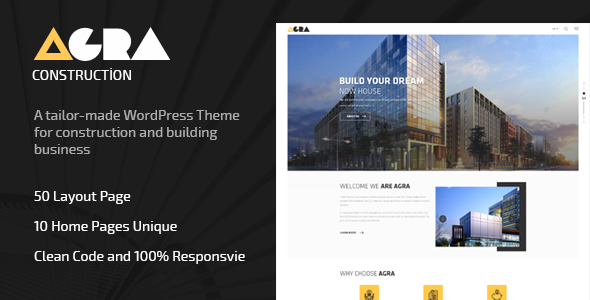 Agra Preview Wordpress Theme - Rating, Reviews, Preview, Demo & Download
