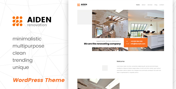 Aiden Preview Wordpress Theme - Rating, Reviews, Preview, Demo & Download