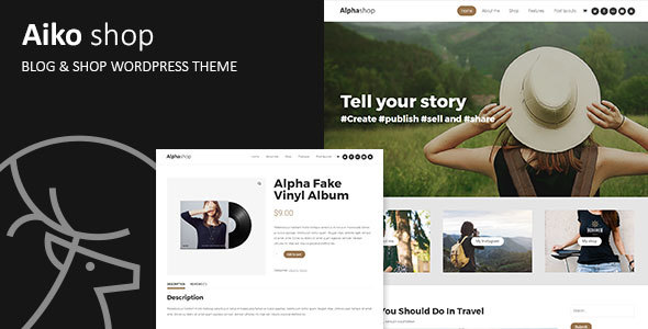 Aiko Preview Wordpress Theme - Rating, Reviews, Preview, Demo & Download