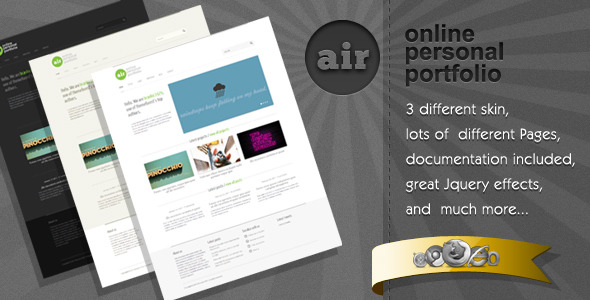 AirWP Preview Wordpress Theme - Rating, Reviews, Preview, Demo & Download