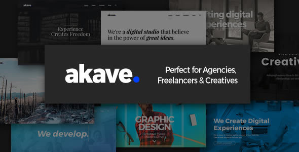 Akave Preview Wordpress Theme - Rating, Reviews, Preview, Demo & Download