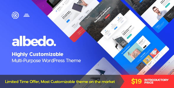 Albedo Preview Wordpress Theme - Rating, Reviews, Preview, Demo & Download