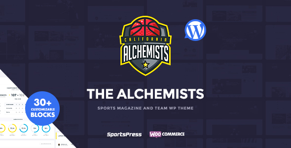 Alchemists Preview Wordpress Theme - Rating, Reviews, Preview, Demo & Download