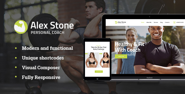 Alex Stone Preview Wordpress Theme - Rating, Reviews, Preview, Demo & Download