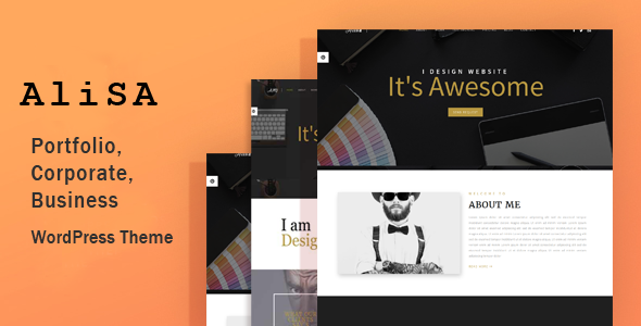 Alisa Preview Wordpress Theme - Rating, Reviews, Preview, Demo & Download
