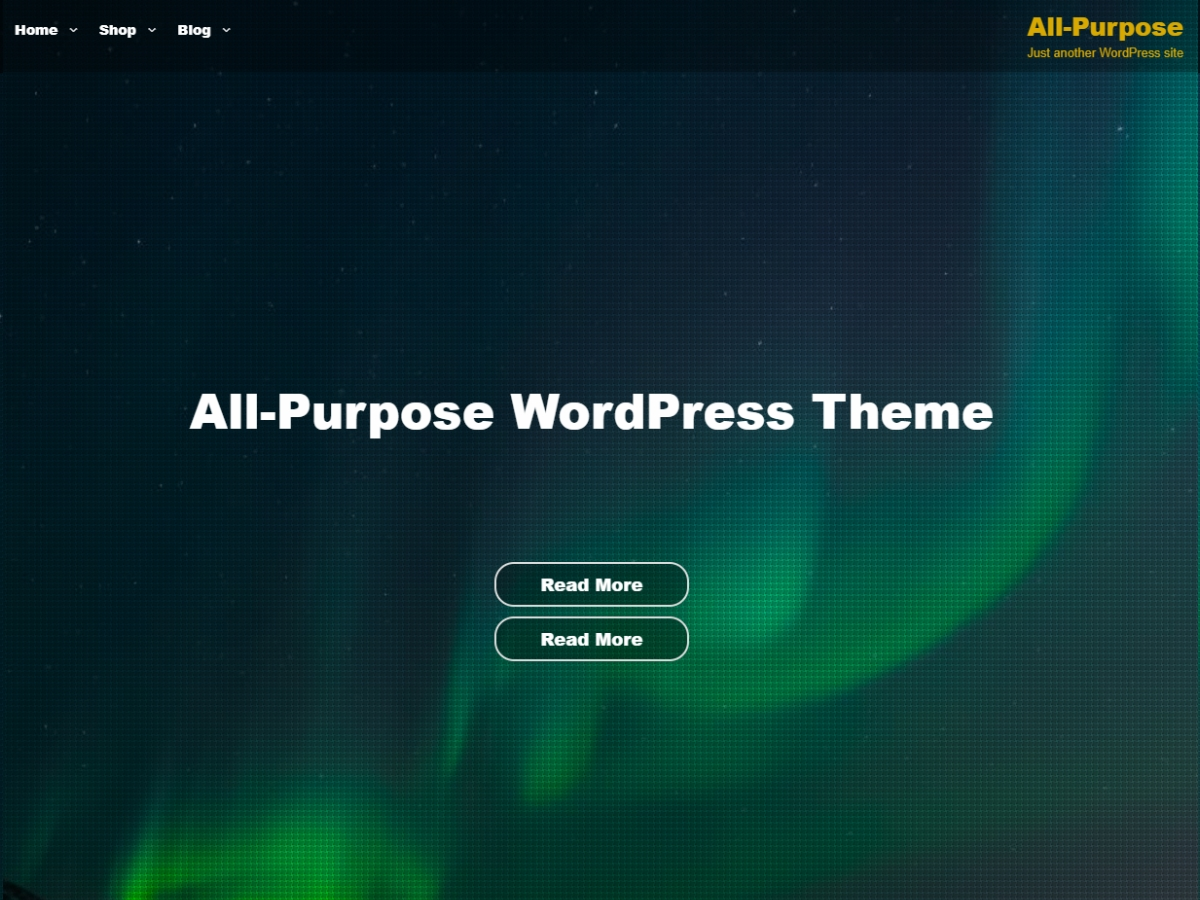All Purpose Preview Wordpress Theme - Rating, Reviews, Preview, Demo & Download