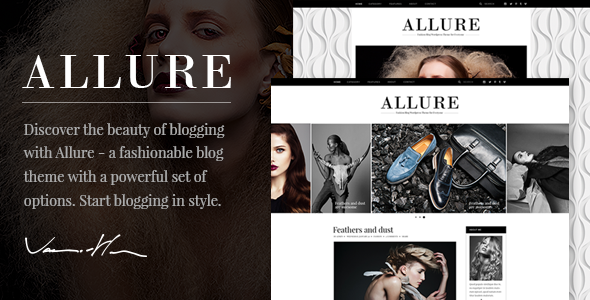Allure Preview Wordpress Theme - Rating, Reviews, Preview, Demo & Download