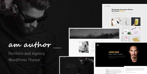 Am Author Preview Wordpress Theme - Rating, Reviews, Preview, Demo & Download