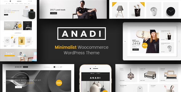 Anadi Preview Wordpress Theme - Rating, Reviews, Preview, Demo & Download