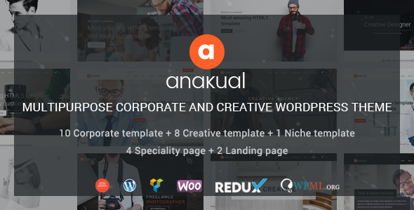 Anakual Preview Wordpress Theme - Rating, Reviews, Preview, Demo & Download