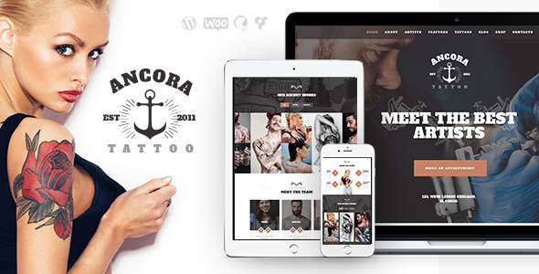 Ancora Preview Wordpress Theme - Rating, Reviews, Preview, Demo & Download