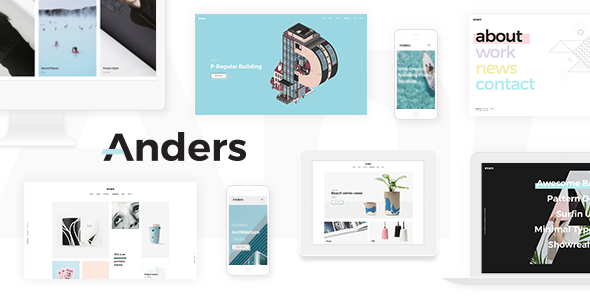 Anders Preview Wordpress Theme - Rating, Reviews, Preview, Demo & Download