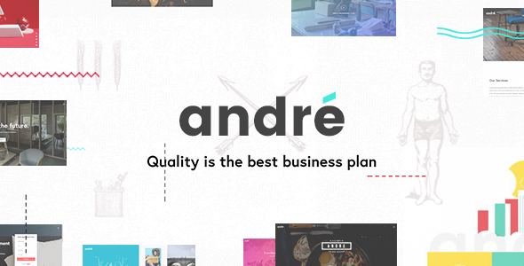 Andr Preview Wordpress Theme - Rating, Reviews, Preview, Demo & Download