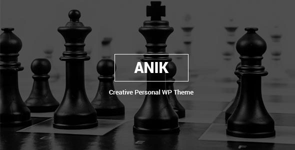 Anik Preview Wordpress Theme - Rating, Reviews, Preview, Demo & Download