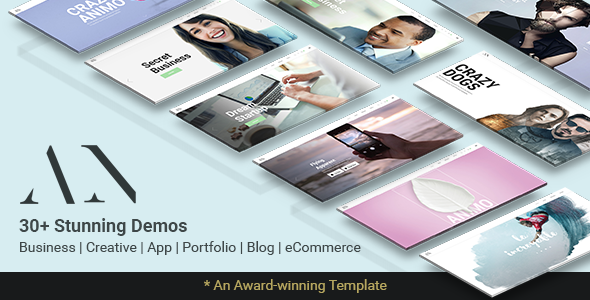Animo Preview Wordpress Theme - Rating, Reviews, Preview, Demo & Download