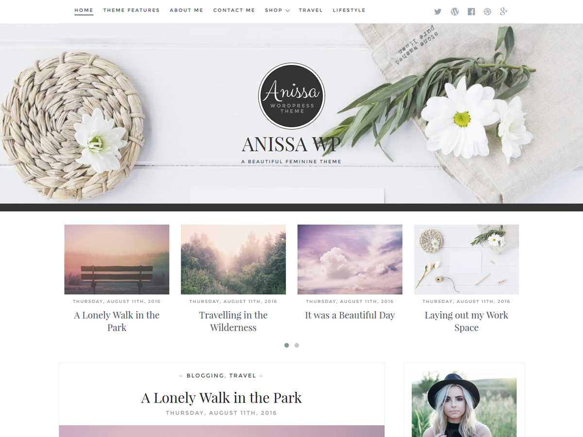 Anissa Preview Wordpress Theme - Rating, Reviews, Preview, Demo & Download