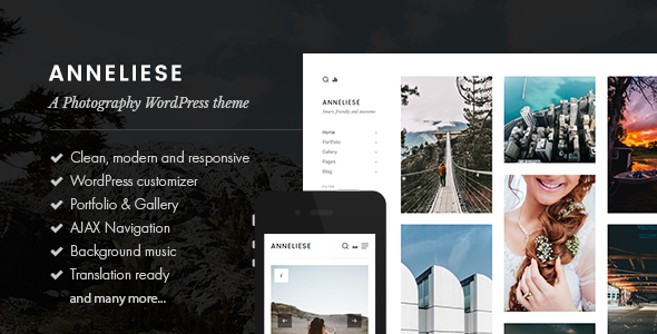 Anneliese Preview Wordpress Theme - Rating, Reviews, Preview, Demo & Download