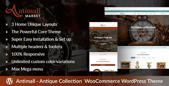 Antimall Preview Wordpress Theme - Rating, Reviews, Preview, Demo & Download