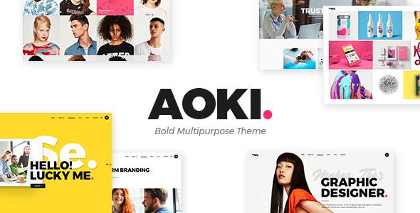 Aoki Preview Wordpress Theme - Rating, Reviews, Preview, Demo & Download