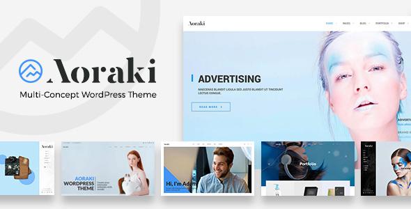 Aoraki Preview Wordpress Theme - Rating, Reviews, Preview, Demo & Download