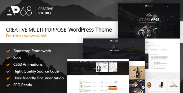 AP68 Preview Wordpress Theme - Rating, Reviews, Preview, Demo & Download