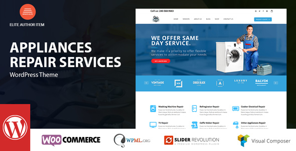 Appliance Preview Wordpress Theme - Rating, Reviews, Preview, Demo & Download