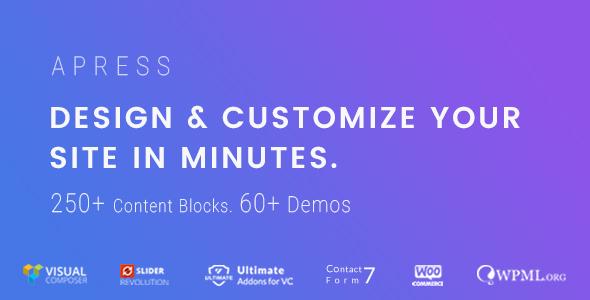 Apress Preview Wordpress Theme - Rating, Reviews, Preview, Demo & Download
