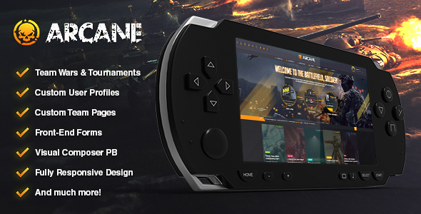Arcane Preview Wordpress Theme - Rating, Reviews, Preview, Demo & Download