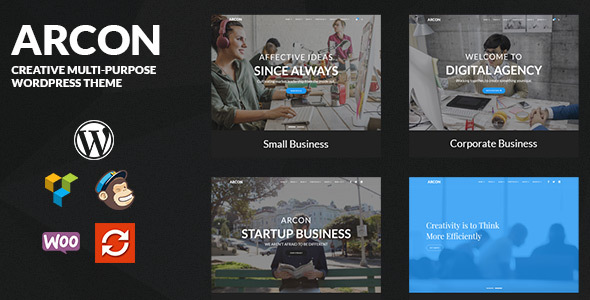 Arcon Preview Wordpress Theme - Rating, Reviews, Preview, Demo & Download