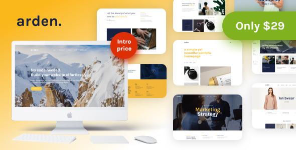 Arden Preview Wordpress Theme - Rating, Reviews, Preview, Demo & Download