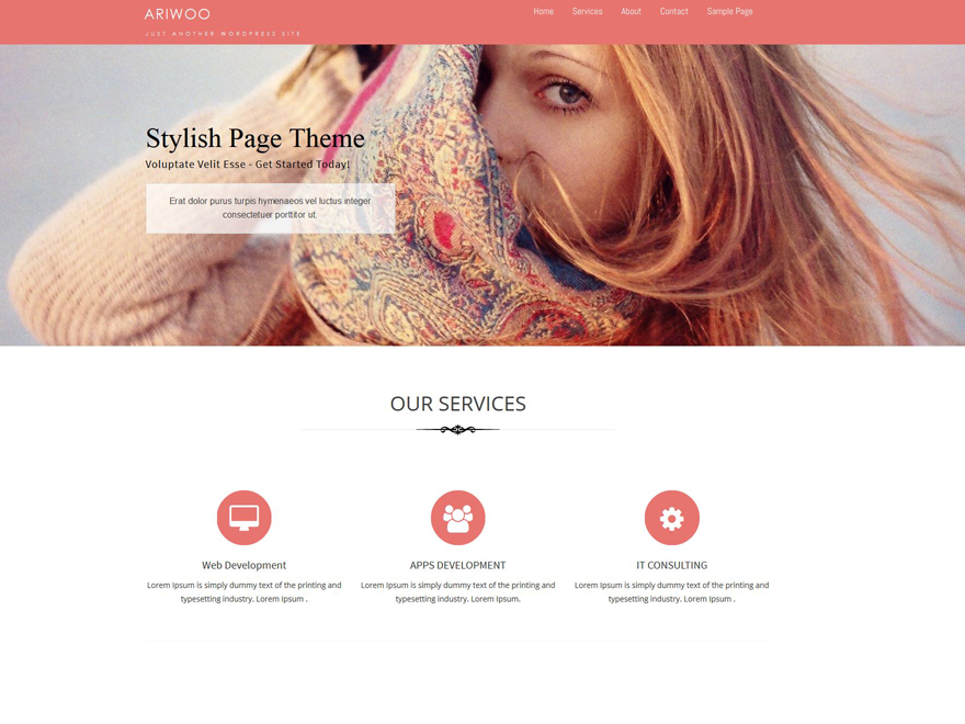 Ariwoo Preview Wordpress Theme - Rating, Reviews, Preview, Demo & Download