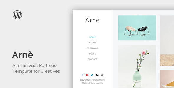 Arne Preview Wordpress Theme - Rating, Reviews, Preview, Demo & Download