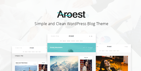 Aroest Preview Wordpress Theme - Rating, Reviews, Preview, Demo & Download
