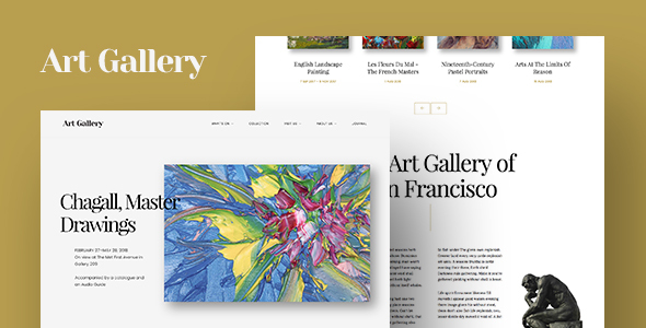 Arte Preview Wordpress Theme - Rating, Reviews, Preview, Demo & Download